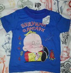 Майка футболка детская новая