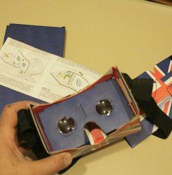γυαλιά για στερεοφωνικές ταινίες μέσω smartphone