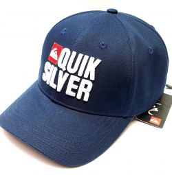 Бейсболка Quiksilver flash (т синій)