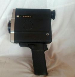 Retro film kamera m süper8
