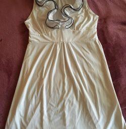 Φόρεμα ODG λευκό
