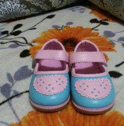 Kızlar için patik ayakkabı