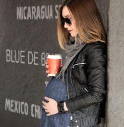 Φόρεμα για νοσηλευτική και έγκυες Tariq Jeans μαύρο