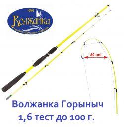 Volzhanka Gorynych 1.6 test to 100 g