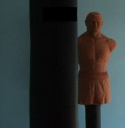 Punga de box 100 kg Seria de lux Negru