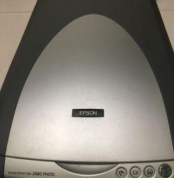 Сканер EPSON 2480 PHOTO