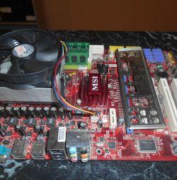 Комплект AM2 Phenom 9550 (гарантія)