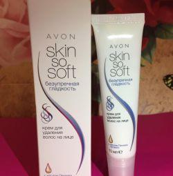 New facial hair removal cream