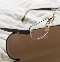 Klasik orijinal görüntü için Chanel gözlük (çerçeve)