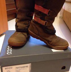Μπότες, μπότες Ecco. Χειμώνας