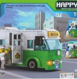 Σχεδιαστής - Happy City 3 σε 1 λεωφορείο, καινούριο