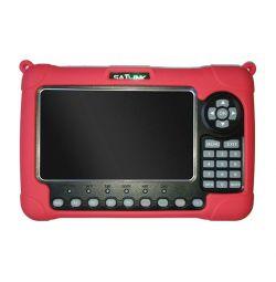 """Satlink WS-6980 7"""" Combo DVB-S2T2C Meter"""