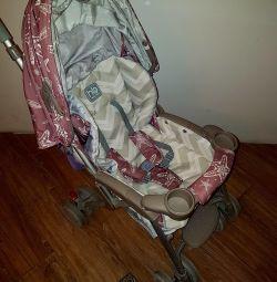 Stroller Heppy Baby + mom bag