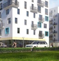 Apartment, open plan, 27.8 m²