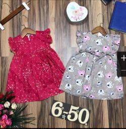 New children's dresses
