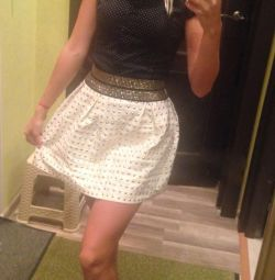 Skirt bell and blouse