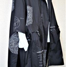Stylish tunic / hoodie / shirt / hood with a hood