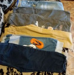 Package of clothes for the boy