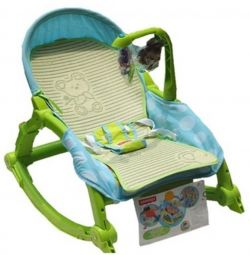 Wheel-chair liner on the cradle