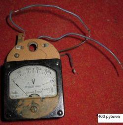 βολτόμετρο σε κατάσταση λειτουργίας της ΕΣΣΔ C 4201 B 40