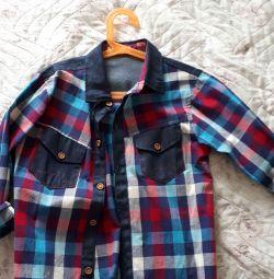 cămașă pentru un băiat