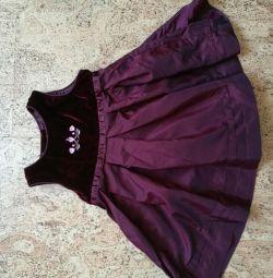 Платье нарядное h&m,62-68 см