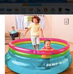 Children's inflatable trampoline new