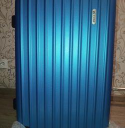 New big handsome suitcase