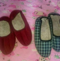 Παπούτσια πάνινα παπούτσια 2 χρώματα για την ανταλλαγή
