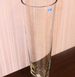 Vase with glass 40 cm
