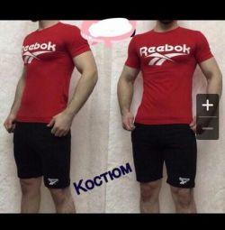 Suit T-shirt + shorts