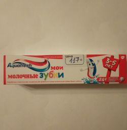 Aquafresh зубна паста Мої молоч зубки 50мл 3-5років