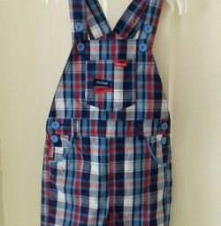 New children's overalls. 86 size (18 months).