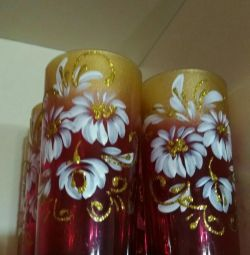 Wine glasses 6pcs new.