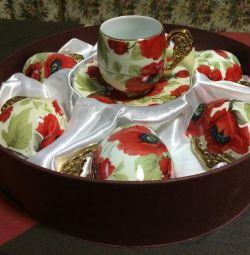 Tea-set . Japan