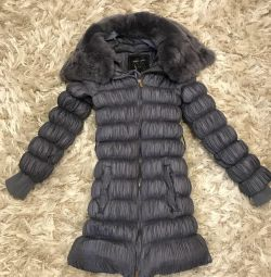 Down jacket for a girl