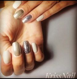 Manicure, shellac (gel polish)