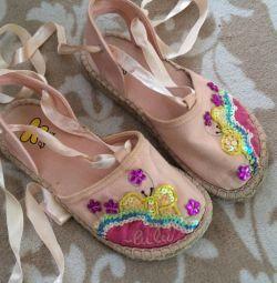 Lulu sandale pentru fete