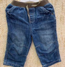 Jeans dimensiunea 74