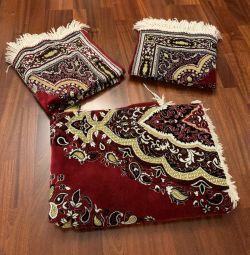 Set of bedspreads 3 pcs