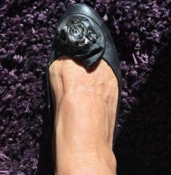 Pantofi din piele autentică
