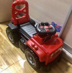 Mega Bloks Jeep Jeep Red Wheelchair