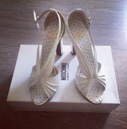Sandaletler Moschino