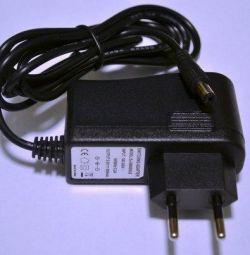 Efekt pedalları için 9 volt 800 mA adaptör