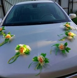Flowers for the car