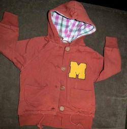 Windbreaker jacket for 2 years