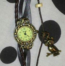 Часы винтаж новые