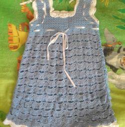 new crocheted dress