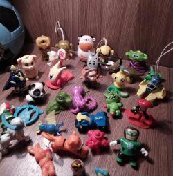 Киндер игрушки 3