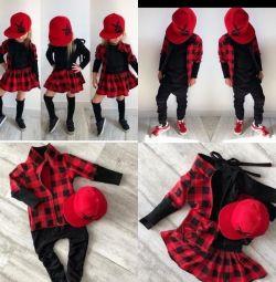 Νέα τρισδιάστατα κοστούμια για κορίτσια